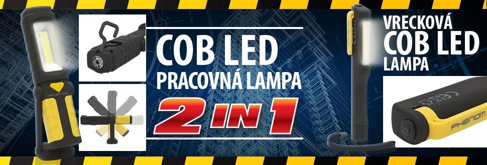 Nové COB LED lampy